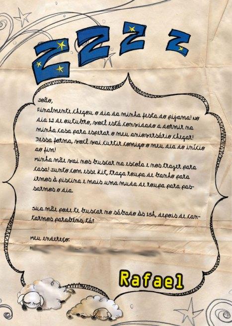 Modelos De Convites Para Festa Do Pijama Para Imprimir
